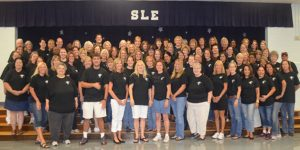 Scott Lake Staff dressed in matching shirts